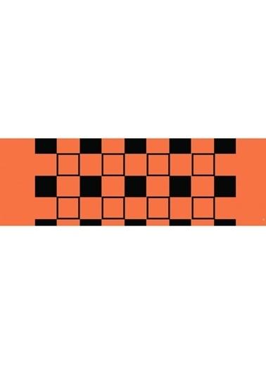 Artikel Geometirk Kare Çizgiler Runner Masa Örtüsü 43,5x141,5cm Renkli